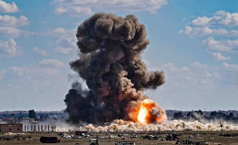 Baghouzin kylä oli Isisin viimeinen jalansija. Sannaa haastateltiin leirissä kylän lähistöllä.