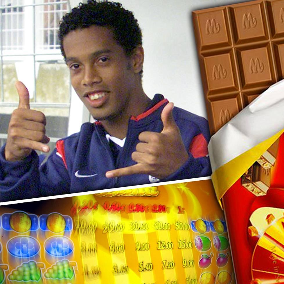 Ronaldinho nautti suunnattomasti siitä, että sai kulkea Suomessa rauhassa, käydä kaupassa suklaaostoksilla ja pelailla hedelmäpelejä.
