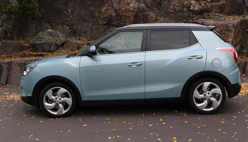 SsangYong Tivoli saapui Suomenkin teille.
