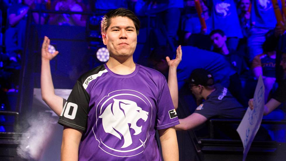 "Jonas ""Shaz"" Suovaaran joukkue on Los Angeles Gladiators."