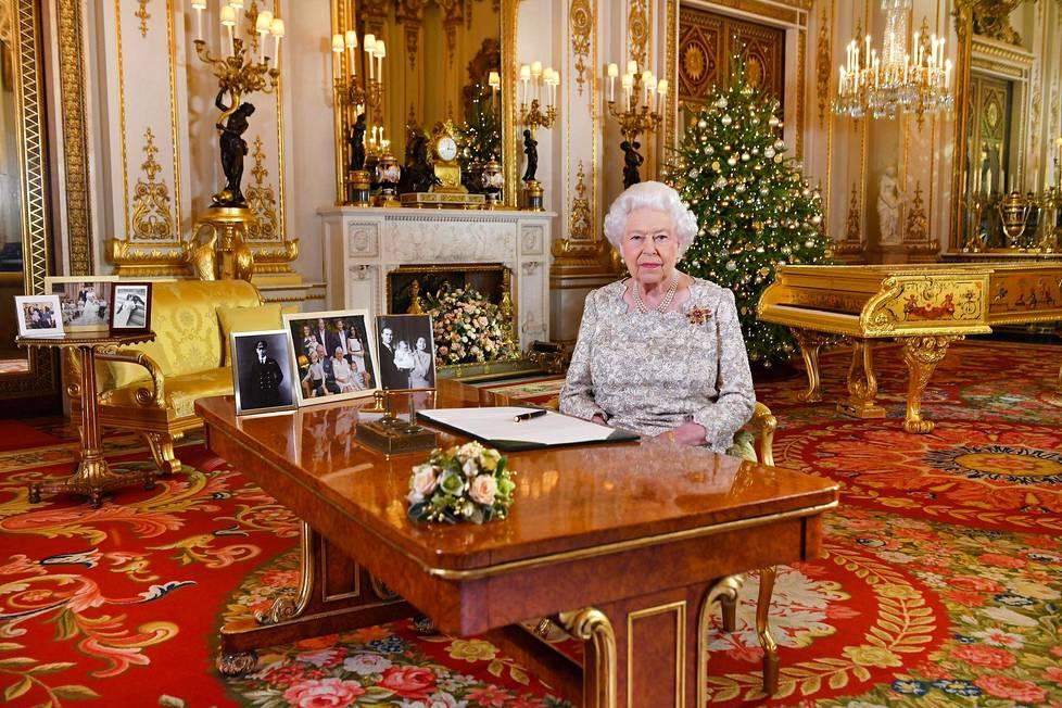 Kuningatar Elisabet pitää joka vuosi kansalle puheen jouluna.