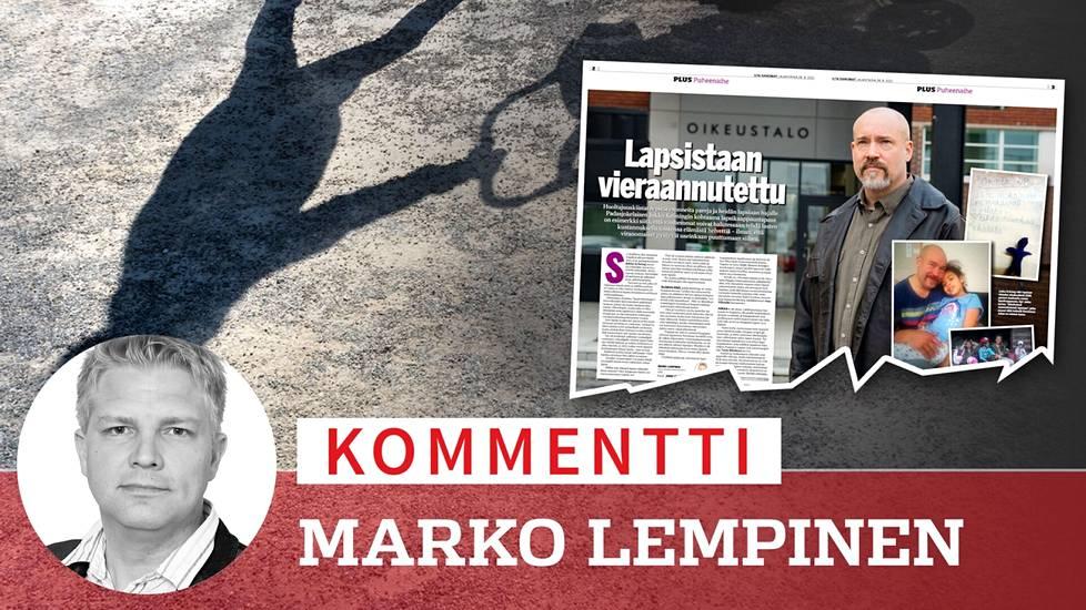 IS kertoi lapsensa lapsikaappausrikoksen myötä menettäneen Jukka Kröningin tarinan 28.8. ilmestyneessä lehdessä.