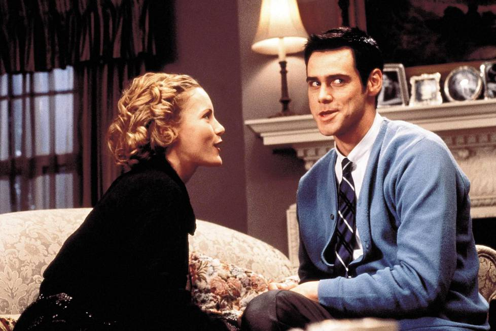 Leslie Mann teki läpimurtonsa elokuvassa Sähköputkimies, jota tähditti myös Jim Carrey.