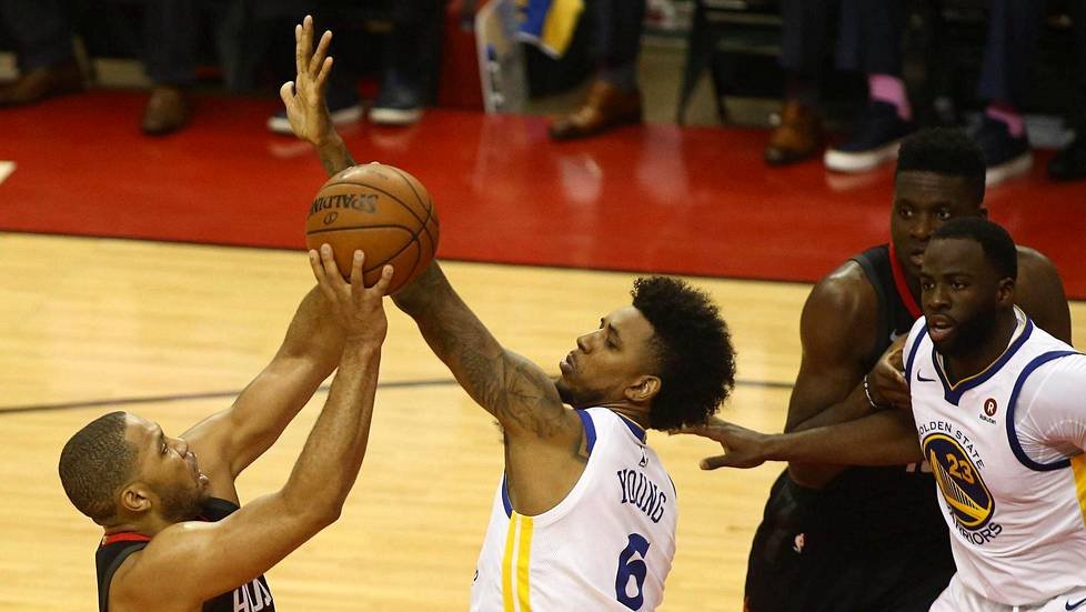 Houston Rockets ja Golden State Warriors kamppailevat NBA:n finaalipaikasta.
