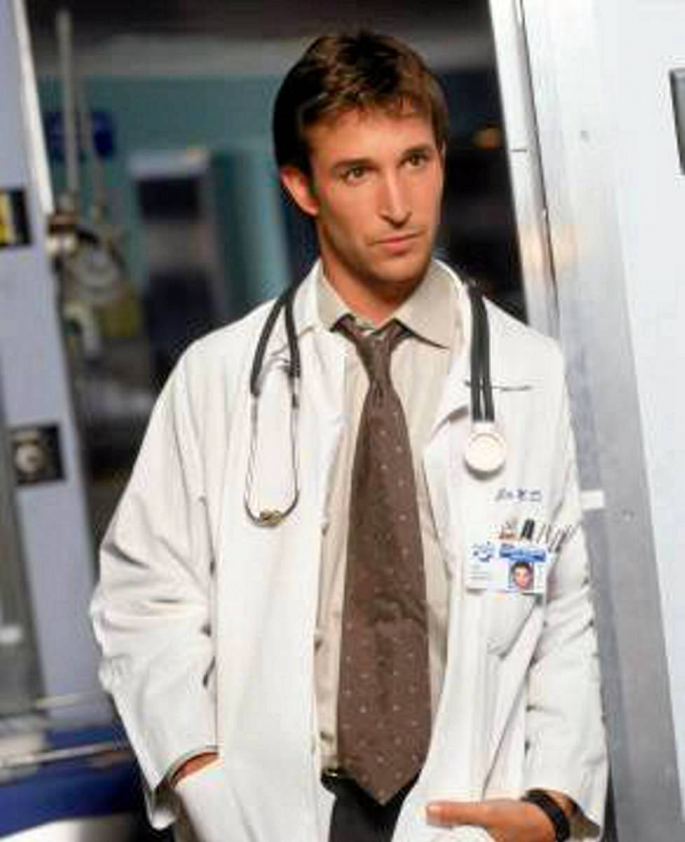 Noah Wyle rooliasussaan.