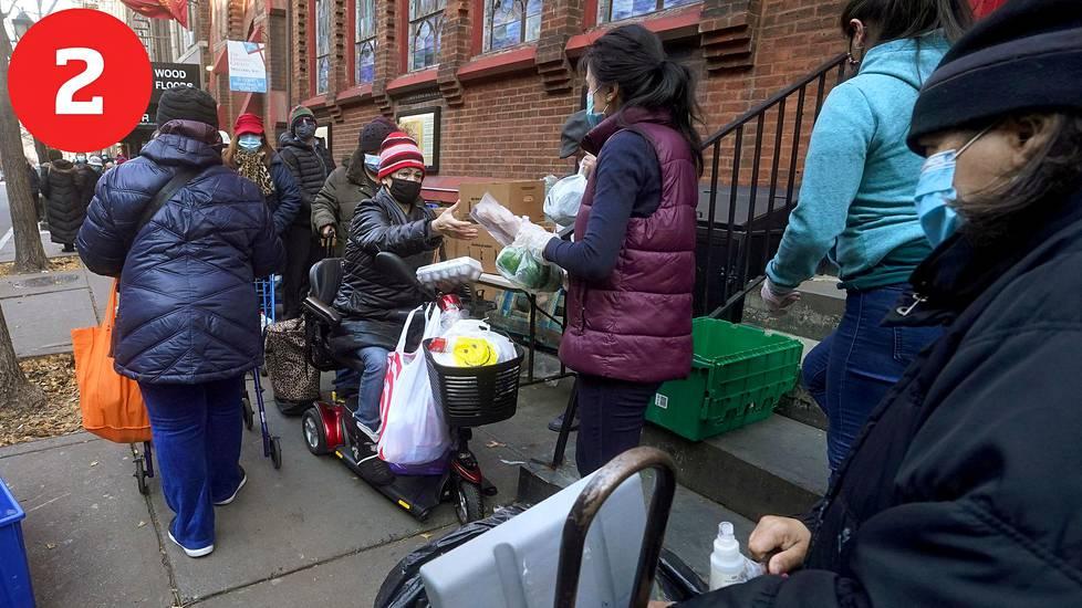 Talous: Biden ajaa tukishekkejä kaikille ja lisää ruoka-apua.