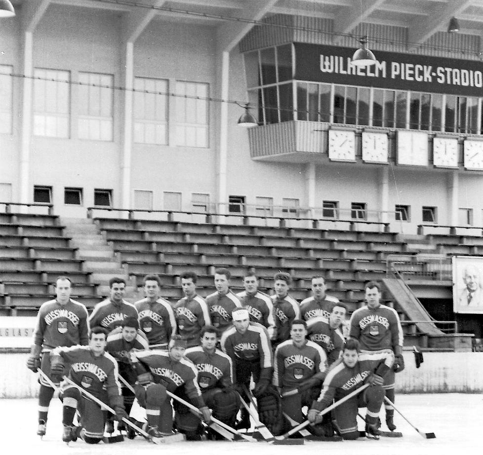 Weisswasserin joukkue vuonna 1960.