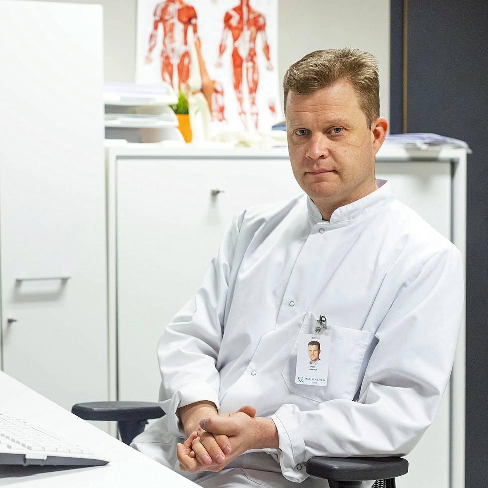 Lasse Lempainen päätti jo nuorena poikana valita urheilu-uran sijaan uran urheilukirurgina.
