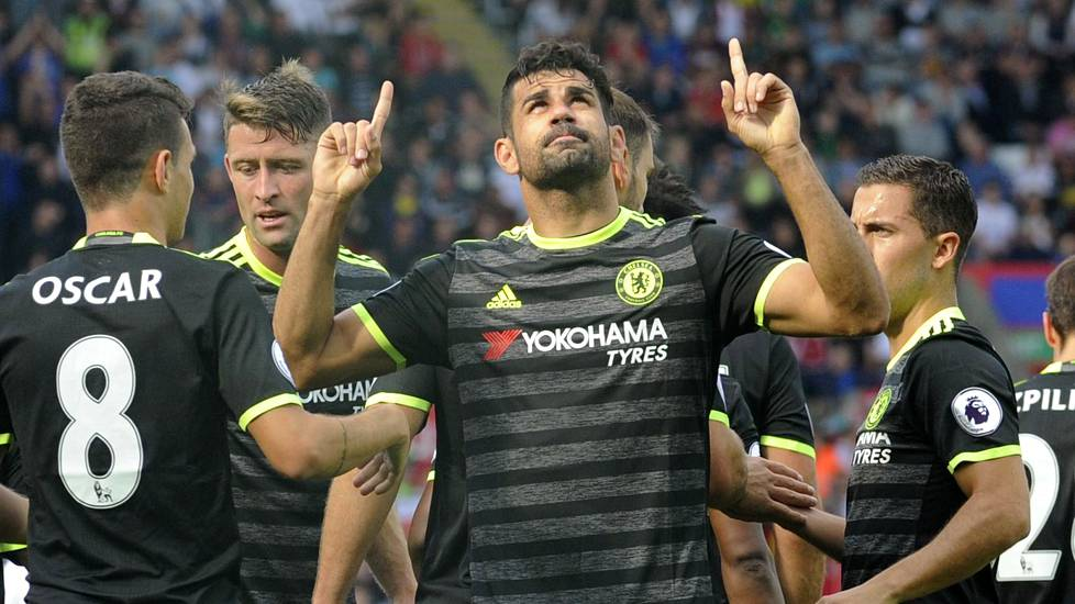 Diego Costa osui taas Chelsealle.