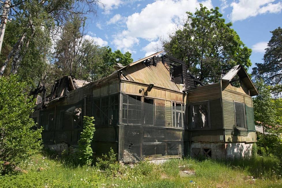 Osa Terijoen rakennuksista on todella huonossa kunnossa.