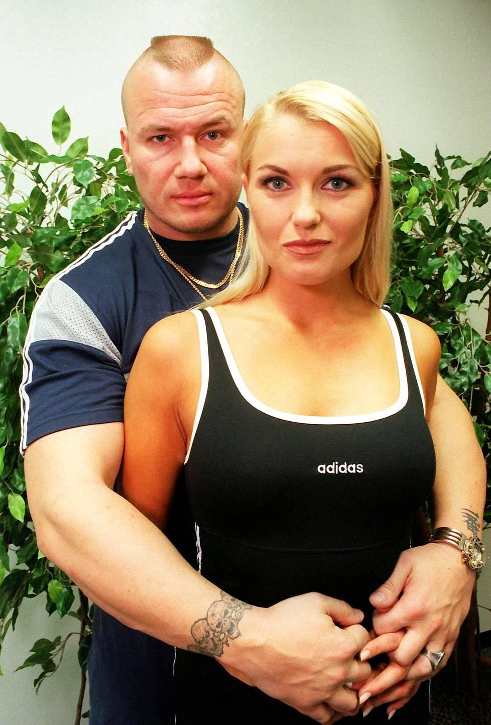 Tony Halme ja Marianne Kiukkonen.
