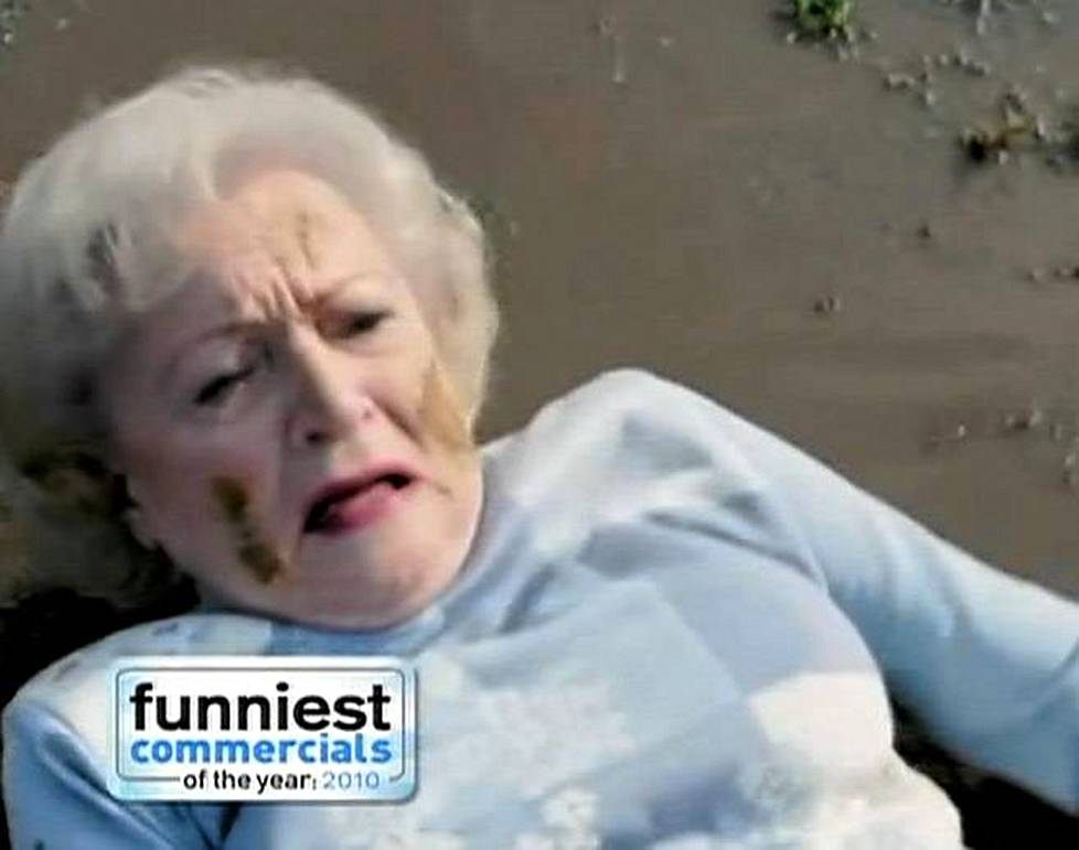 Betty White ja Snickers mainos