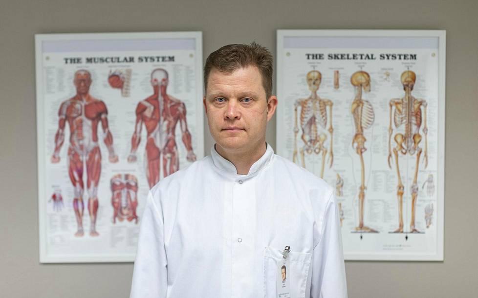 Lasse Lempaiselle on tärkeää osallistua aktiivisesti ulkomaisten ja kotimaisten urheilijoiden kuntoutukseen. Se ratkaisee leikkauksen lopullisen hyödyn.