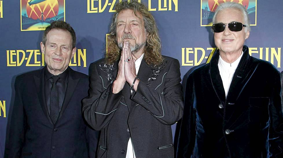 John Paul Jones, Robert Plant ja Jimmy Page ovat Led Zeppelinin kantavia voimia.