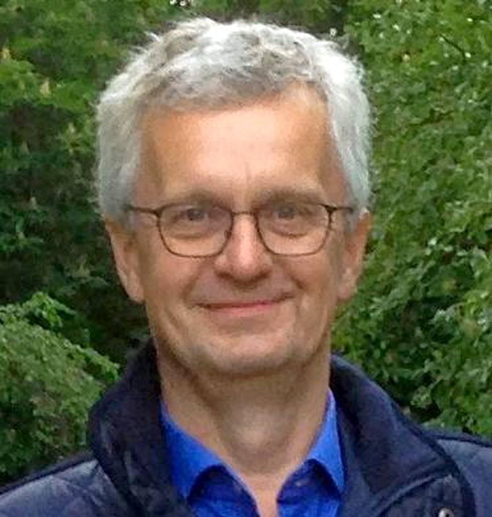Suomen Ilmakuvan toimitusjohtaja Tom-Peter Johansson.