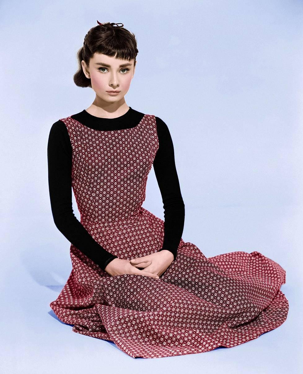 Kaunis Sabrina -elokuvan puffikuva vuodelta 1954.