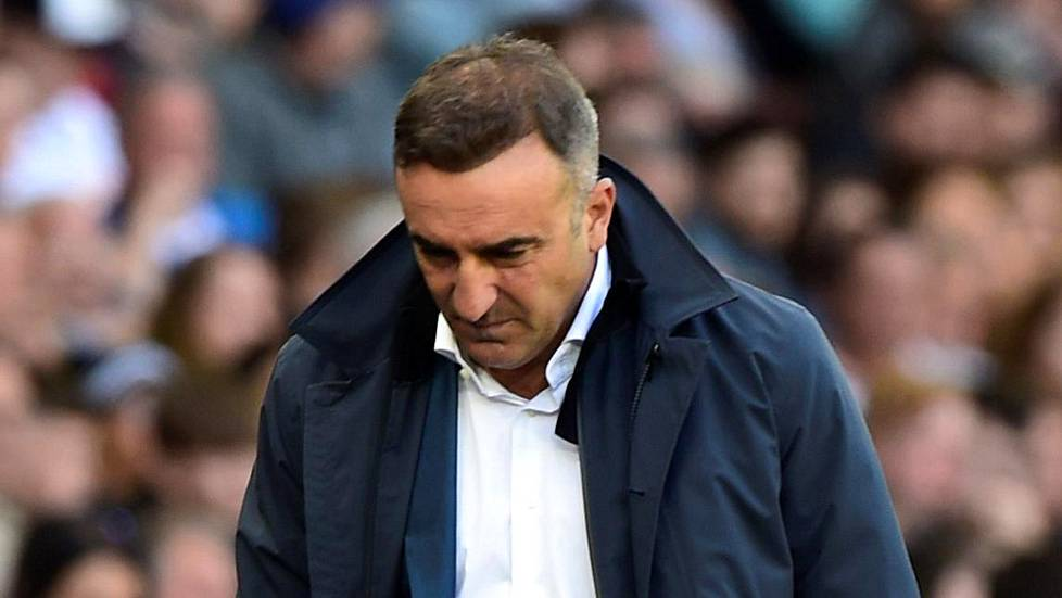 Carlos Carvalhal on nyt Swansean entinen manageri.