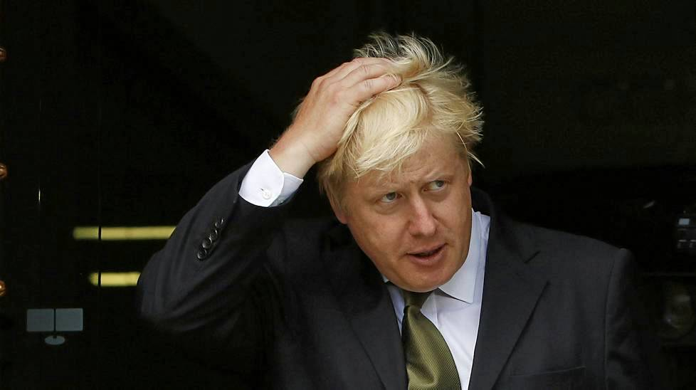 Lontoon pormestari Boris Johnson.