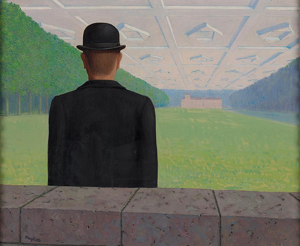 """""""Suuri vuosisata"""". Vaikka Magritte oli poliittisesti aktiivinen, se ei näkynyt hänen töistään suoraan muuten kuin niiden joskus filosisina niminä."""