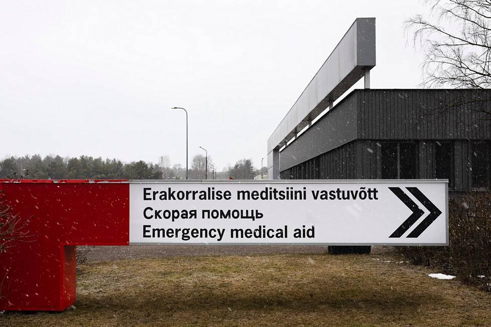 Pohjois-Tallinnan aluesairaala on kokonaisuudessaan valjastettu pandemian hoitamiseen.