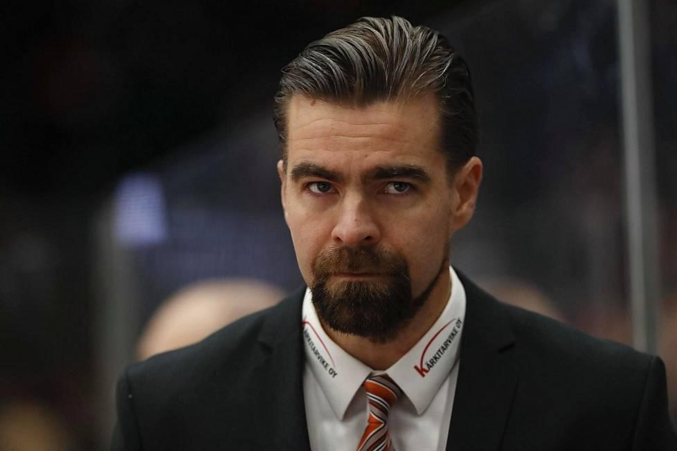 Jussi Ahokas luotsasi Suomen nuoret MM-kultaan viime tammikuussa.