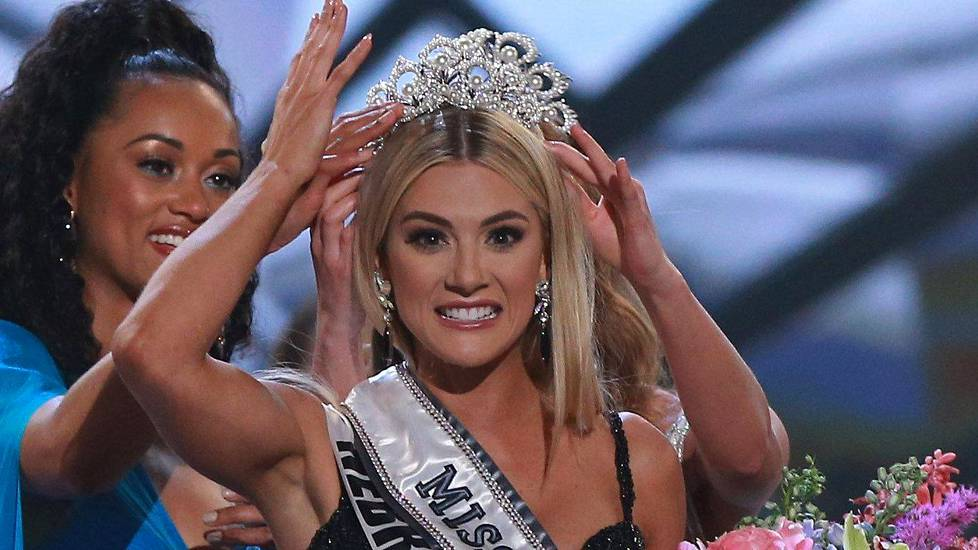 Sarah Rose Summers on Miss USA 2018.