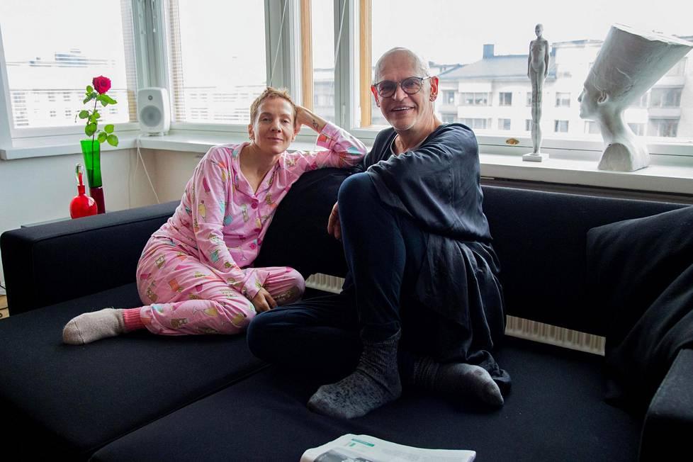 Uotinen kertoi Maria Veitolalle, että ei ole päästänyt ketään yökyläilemään kotiinsa 20 vuoteen.