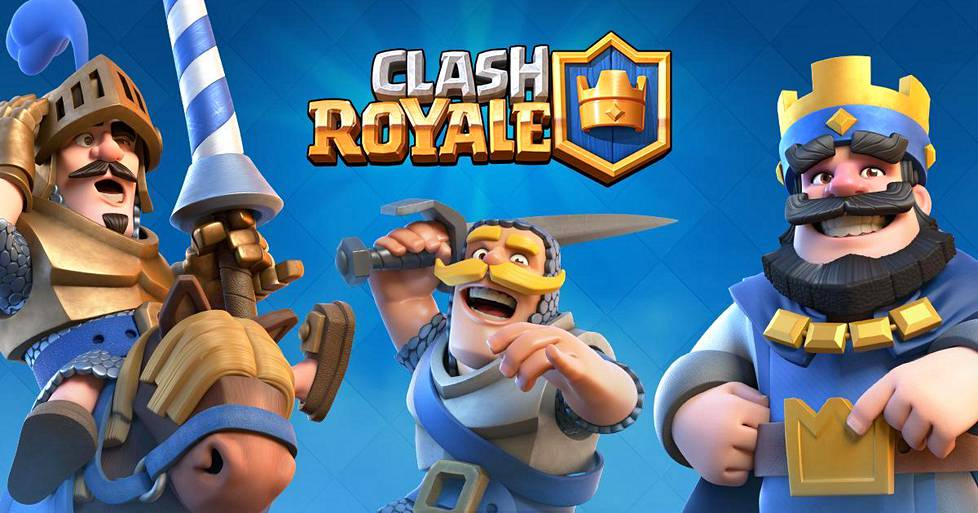Clash Royale on supersuosittu mobiilipeli.