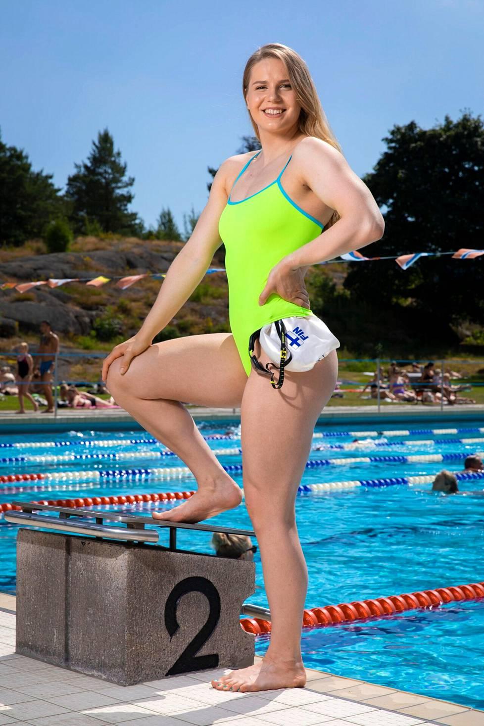 """Ida Hulkkoa ärsyttää, että monet kokevat """"oikeudekseen kommentoida urheilijoiden ulkonäköä, vaikkei sillä olisikaan tekemistä suoritusten kanssa""""."""