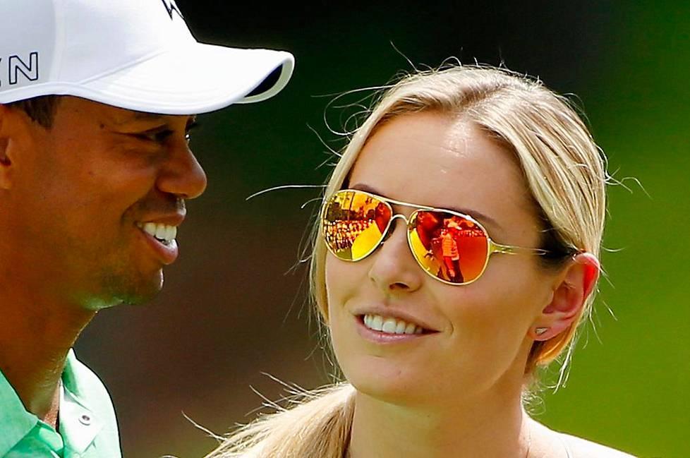 Tiger Woodsin ja Lindsey Vonnin suhde kesti noin kolme vuotta.