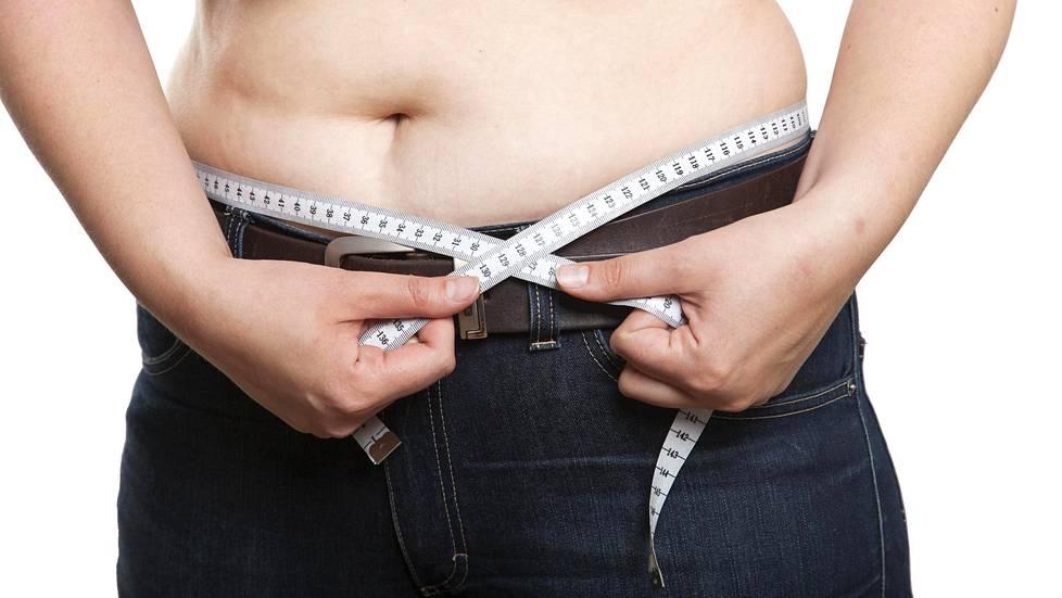 vyötärölihavuus laihdutus
