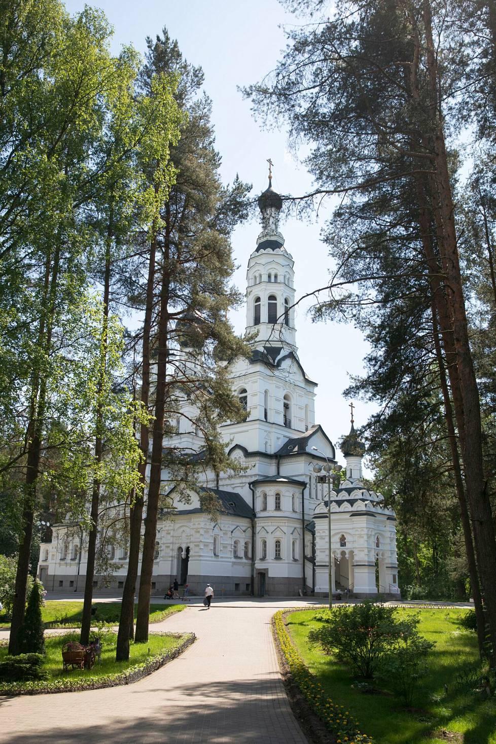 Terijoen ortodoksinen kirkko.