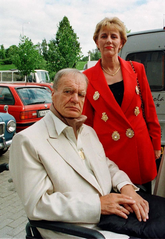 Urpo ja Maija Lahtinen vuonna 1988.