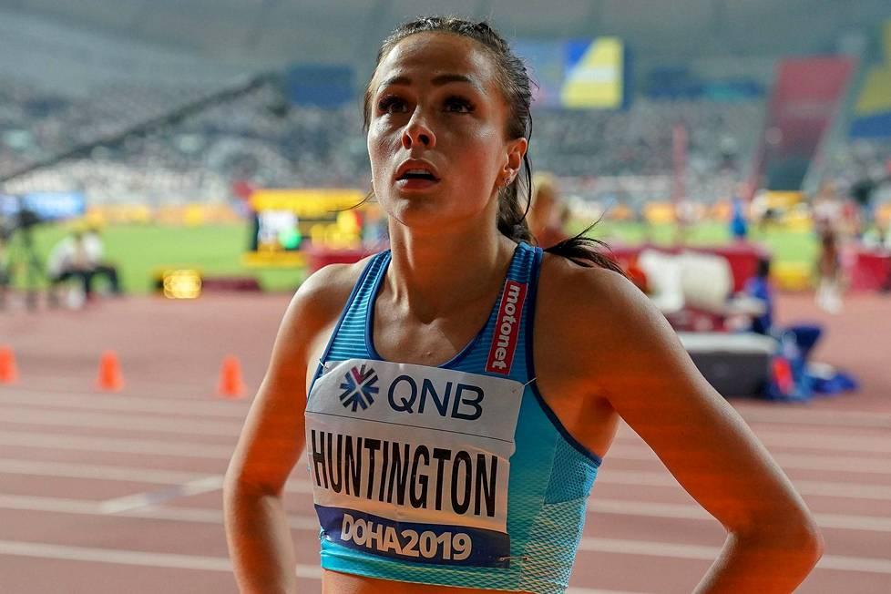 AOP:n Ian Stephenin kuva Maria Huntingtonista.