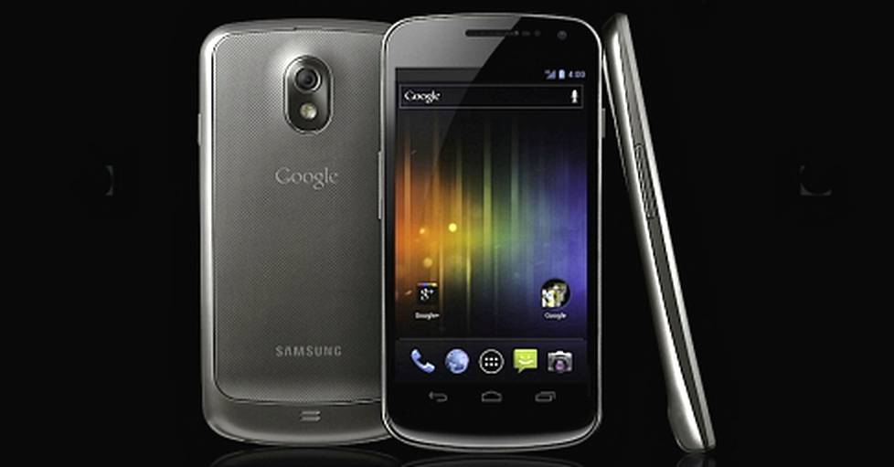 Samsung Galaxy Nexus on Android-leirin lippulaiva.