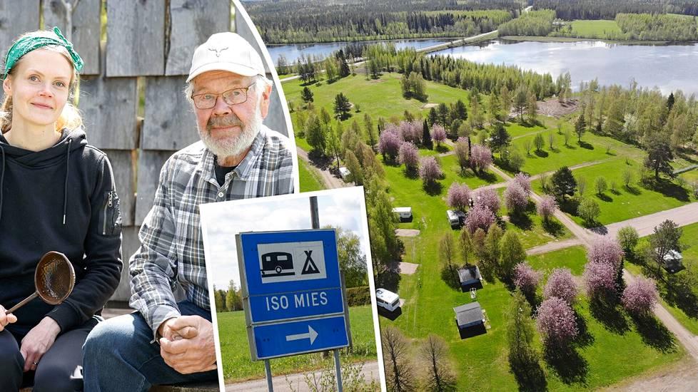 Iso Mies leirintäalue Karstulassa on yksi Suomen leirintäalueiden helmistä.