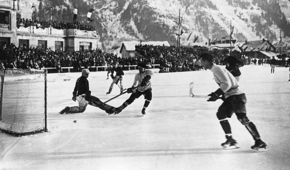 Chamonix'ssa järjestettiin talviolympialaiset 1924. Nyt se olisi jo vaikeaa, sillä ilmastonmuutos iskee ankarasti Alpeille.