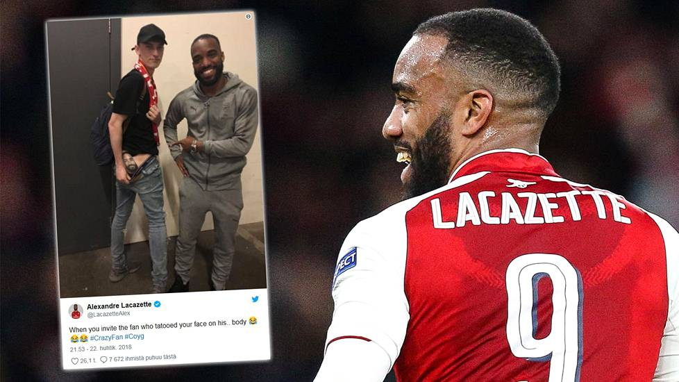 Arsenalin Alexandre Lacazette on Sam Leachin suosikkipelaaja.