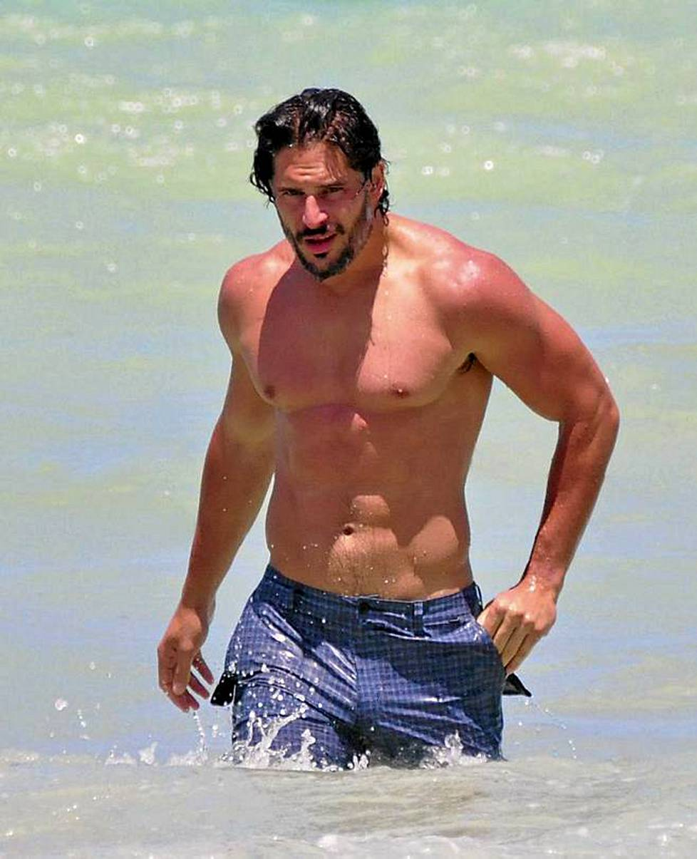 True Blood -sarjan tähti Joe Manganiello.