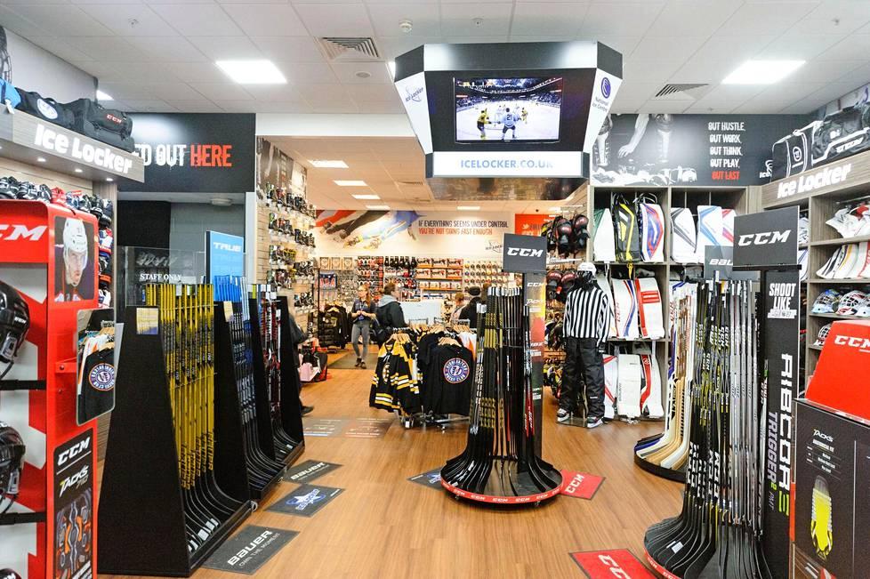 Ice Locker -kaupan valikoima on huippuluokkaa, ja kauppa käy.