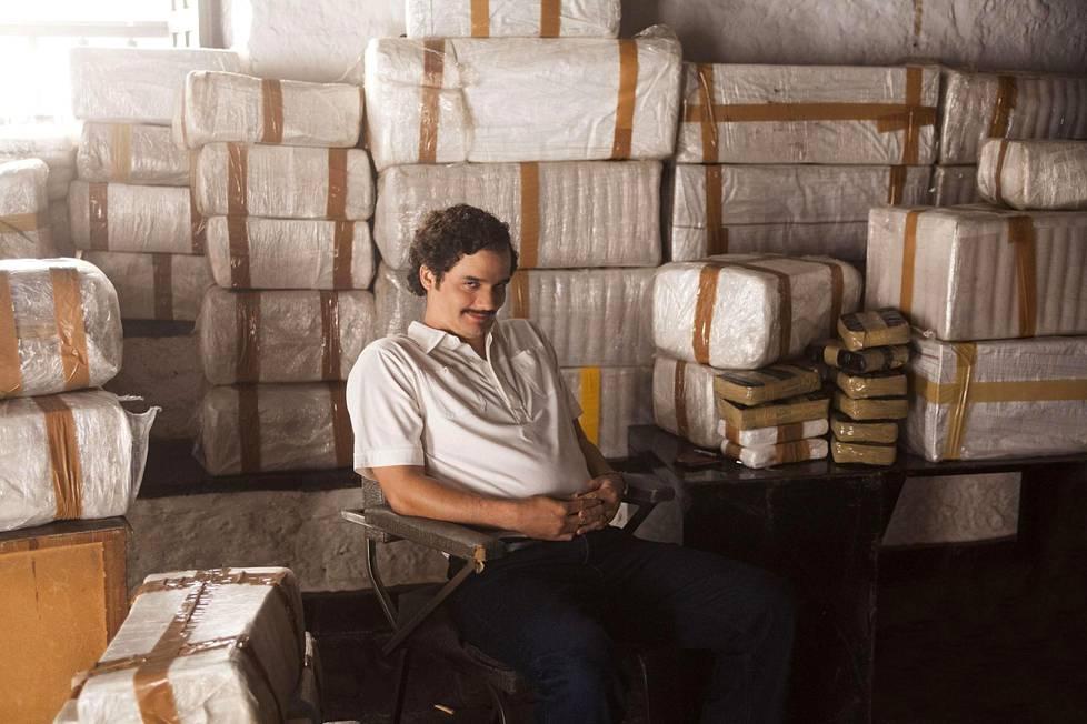 Netflixin hittisarja Narcosissa Escobaria esittää Wagner Moura.