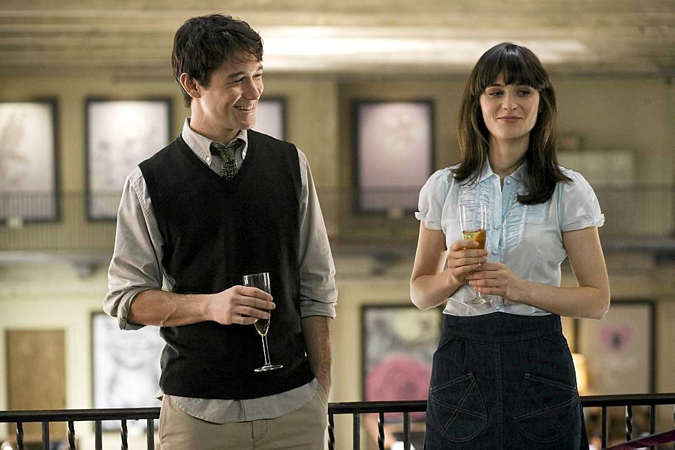 Deschanel 500 days of Summer -elokuvassa Joseph Gordon-Lewittin kanssa.