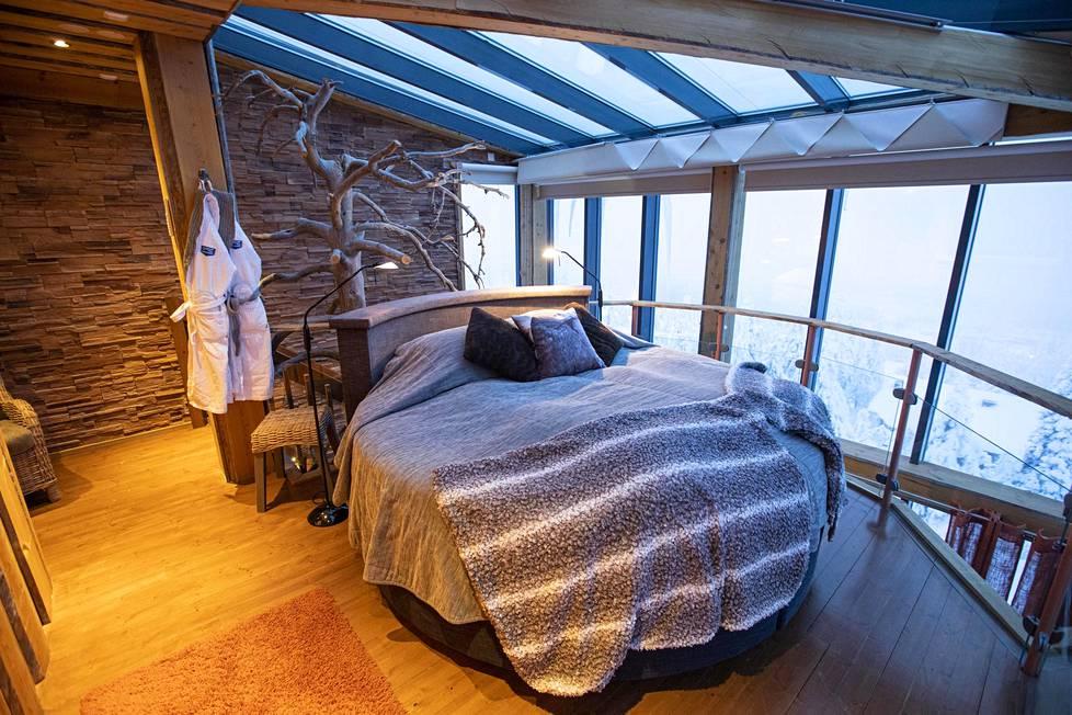 Hotellihuoneita on ylistetty peräti maailman romanttisimmiksi.