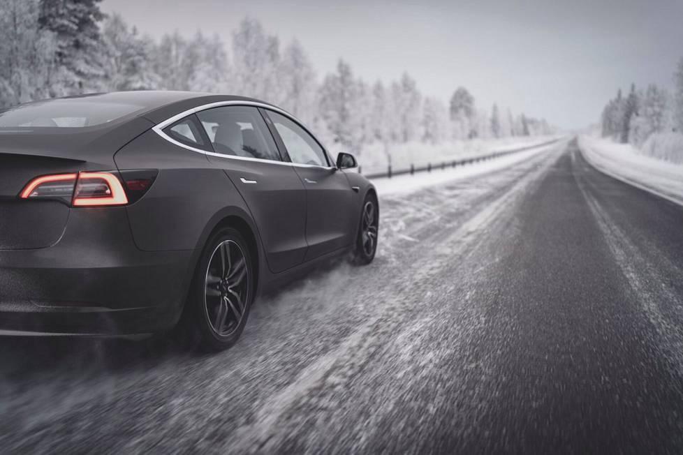 Hyvä talvirengas tarjoaa ajomukavuutta ja on turvallinen kaikissa talviolosuhteissa.