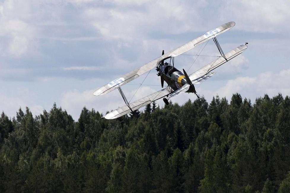 Fokker D.VII oli alun perin käytössä jo ensimmäisessä maailmansodassa.