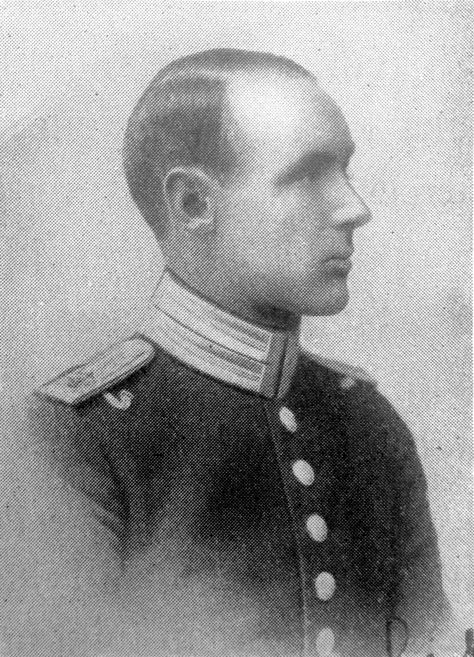 Luutnantti Karl Lillier oli ruotsalainen vapaaehtoinen.