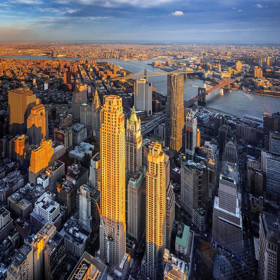 Näkymä New Yorkista.