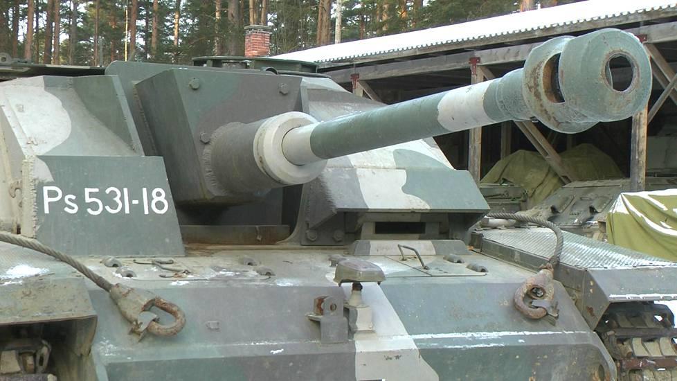 Rynnäkkötykit olivat suomalaisten tehokkainta kalustoa kesällä 1944.
