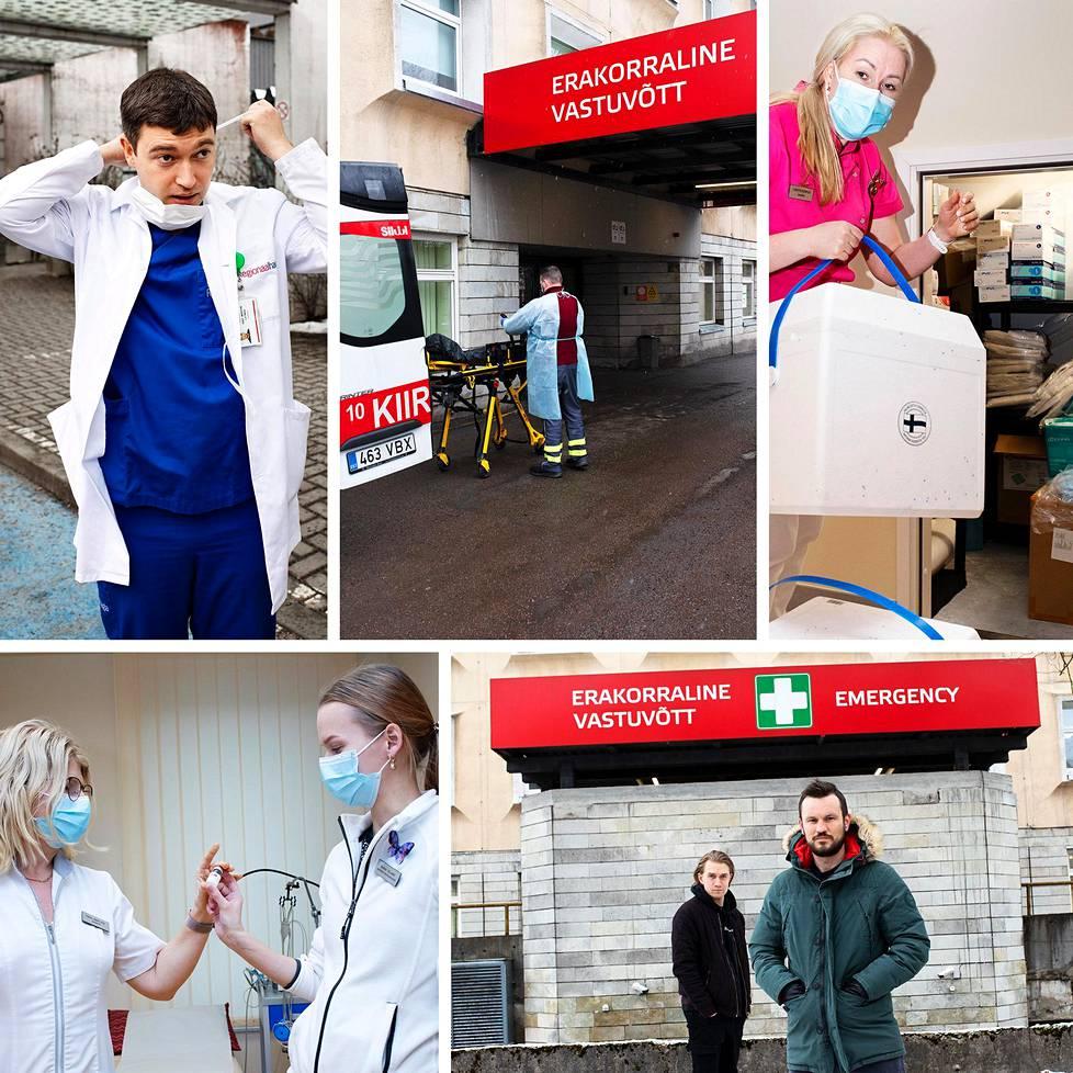 Koronaepidemian painolasti on murtamassa Viron terveydenhuollon kantokykyä.