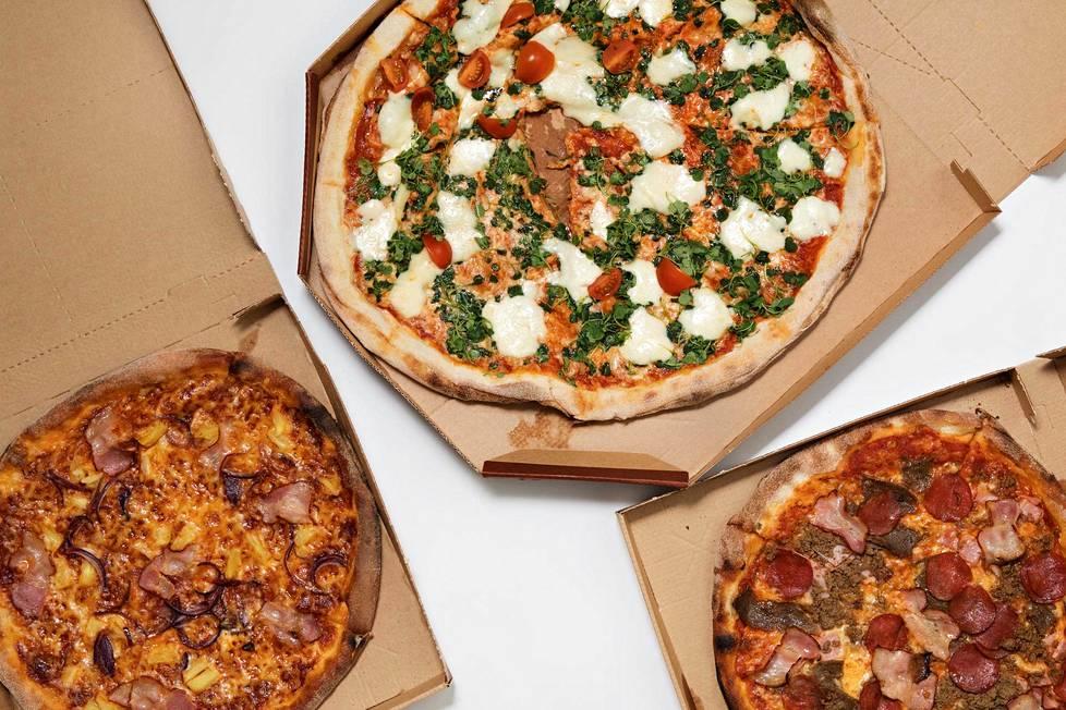 –Meidän olemassaolon tarkoitukseksi muotoutui, että haluamme parantaa maailmaa pizza kerrallaan, Tommi Tervanen kertoo.